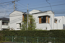 House in Musashiseki, Private House, The southwest fa - 90000-130-1