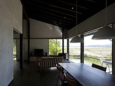 Mokuso, Private House, View of the dining and living room - 90003-100-1