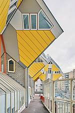 Exterior of Cube Houses, Rotterdam, Netherlands - ARC107394
