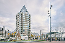 Exterior of Cube Houses, Rotterdam, Netherlands - ARC107405