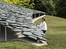 Serpentine Pavilion 2019 which is on the Serpentine Gallery's lawn in Kensington Gardens, London, UK - ARC108831