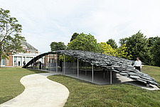 Serpentine Pavilion 2019 which is on the Serpentine Gallery's lawn in Kensington Gardens, London, UK - ARC108832