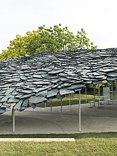 Serpentine Pavilion 2019 which is on the Serpentine Gallery's lawn in Kensington Gardens, London, UK - ARC108833