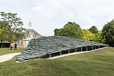 Serpentine Pavilion 2019 which is on the Serpentine Gallery's lawn in Kensington Gardens, London, UK - ARC108834