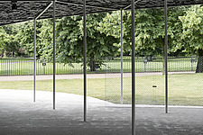 Serpentine Pavilion 2019 which is on the Serpentine Gallery's lawn in Kensington Gardens, London, UK - ARC108840