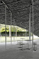 Serpentine Pavilion 2019 which is on the Serpentine Gallery's lawn in Kensington Gardens, London, UK - ARC108841