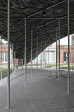 Serpentine Pavilion 2019 which is on the Serpentine Gallery's lawn in Kensington Gardens, London, UK - ARC108842